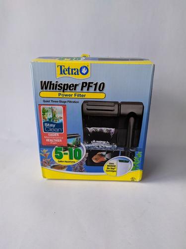 Filtro De Cascada Tetra Whisper Pf10 Acuario 20 A 40 Litros