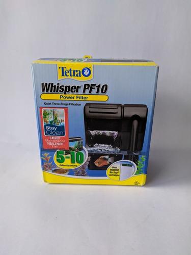Filtro De Cascada Tetra Whisper Pf10 Acuarios Peceras