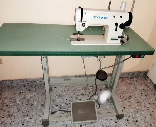 Maquina De Coser Semindustrial Zoje Recta Y Zigz Casi Nueva!