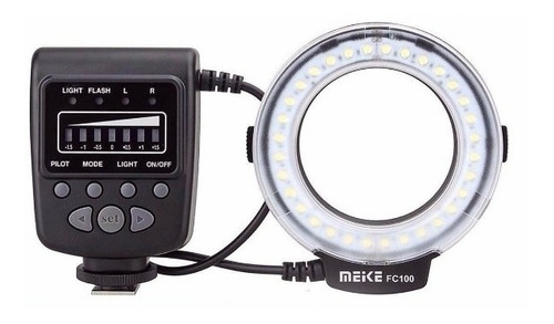 Meike Fc-100 Macro Anillo Flash Luz Para Canon,nikon, Yotros