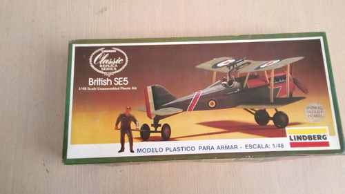 Avion A Escala 1:48 Lindberg Avion Modelo British Se5