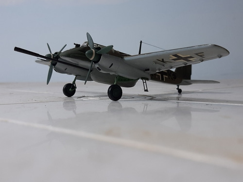 Avion Cazatanques Aleman Henschel Hs129