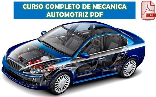 Curso De Mecánica Automotriz + Regalo (pdf)