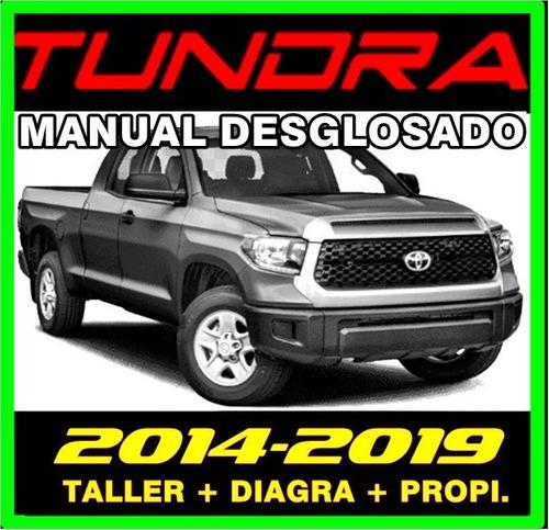 Manual De Servicio Taller Toyota Tundra