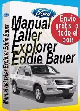 Manual Mecánica Reparación Ford Explorer  Eddie Bauer