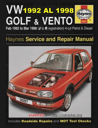 Manual Reparaciones Vw Golf Vento 92 Al 98+manual Propietar