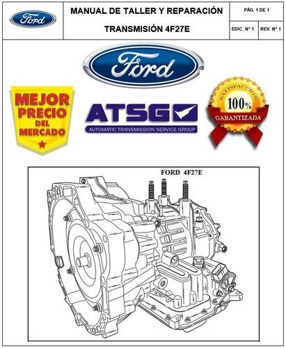 Manual Taller Caja 4f27e Fiesta Ecosport Focus Mazda