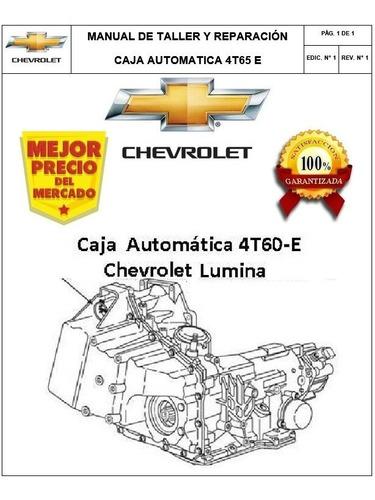 Manual Taller Reparación Caja Chevrolet Lumina / Buick