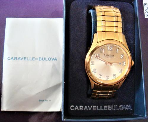 Reloj Bulova Caravelle 44b000 Para Hombre Original