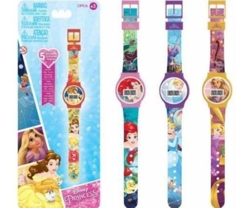 Reloj De Niñas Peppa Pig Y Princesa Rapunzel Disney