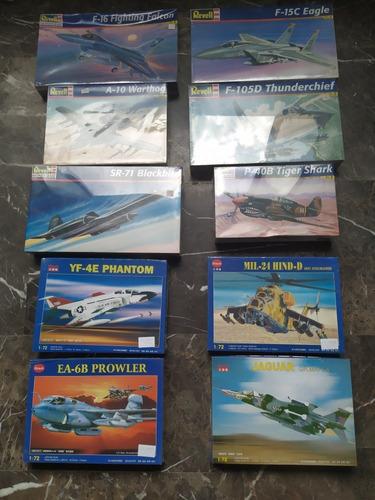 Revell Aviones A Escala 1/48 Y 1/72 Nuevos Sellados