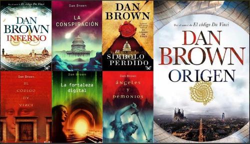 Saga De Ebook Dan Brown Codigo Da Vinci 7 Libros