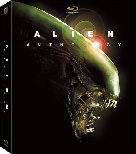 Alien Anthology. Blu Ray.original