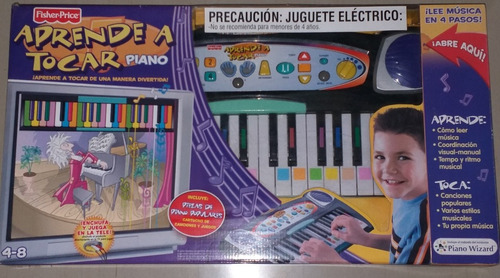 Aprende A Tocar Piano Fisher-price Nuevo
