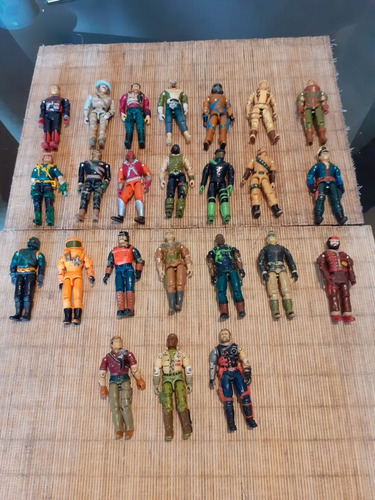 Colección De Figuras Gi Joe