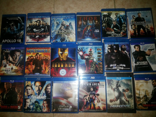 Combo De 49 Peliculas En Blu Ray Oferta