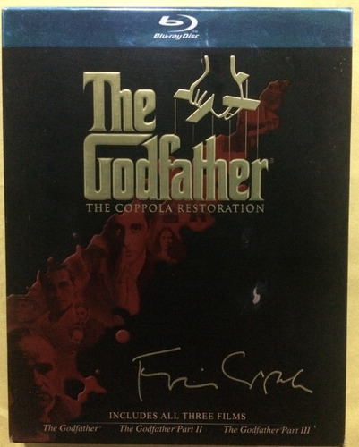 El Padrino The Godfather. Blu Ray.original