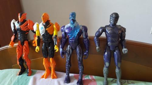 Figuras De Enemigos De Max Steel Originales Mattel
