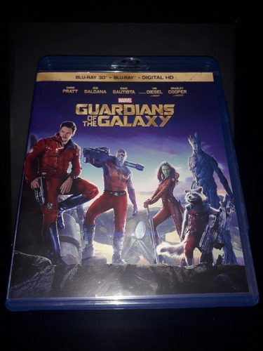 Guardianes De Las Galaxias Bluray 3d+digital Original Nueva