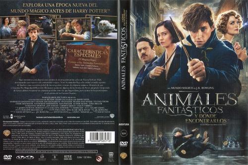 Harry Potter Y Animales Fantasticos Saga De Peliculas