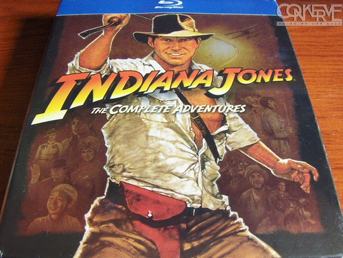 Indiana Jones The Complete Adventures Bluray Box Set Nuevo