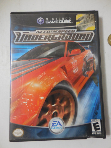Juego De Gamecube Need For Speed Underground Preguntar