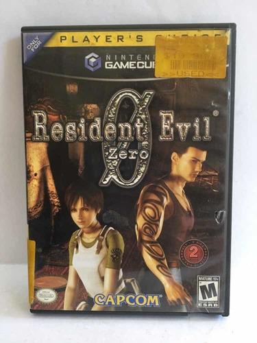 Juego Original Nintendo Gamecube Resident Evil Zero