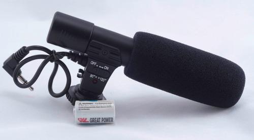 Micrófonos De Grabación Estéreo De 3,5 Mm Para Cámara
