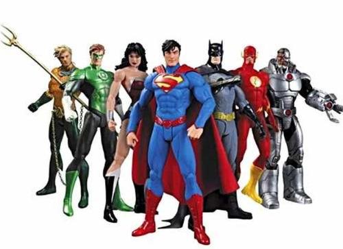 Muñecos Articulados Dc Liga De La Justicia