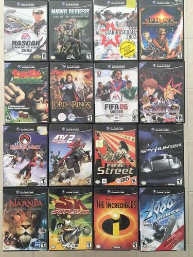 Nintendo Gamecube Lote De 20 Video Juegos Originales Buenos