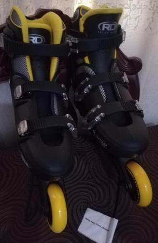 Patines Roller Derby, Nuevos, Ajustable 6-9