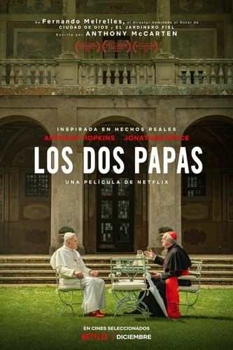 Película Los Dos Papas Full Hd p Combo De 10 Películas