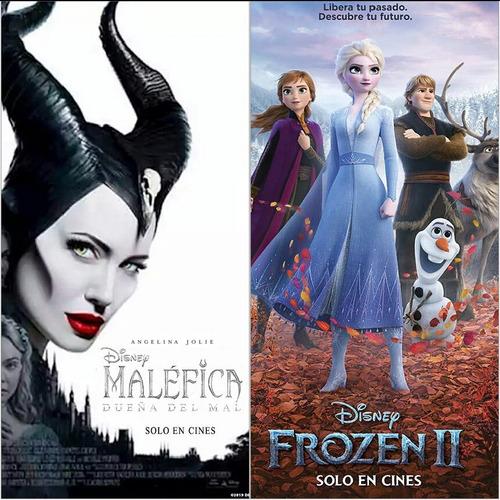 Pelicula Frozen 2 Y Malefica 2 Full Hd Combo De 10 Titulos