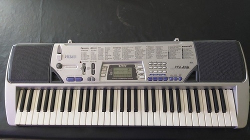 Piano Casio Ctk 496