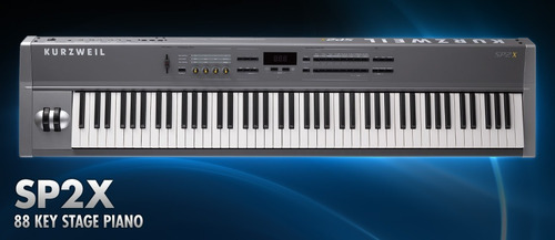 Piano Kurzweil Sp2x De 88 Teclas