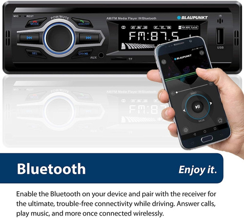 Radio Reproductor Buluetooth Combo Cornetas 6.5 Blaupunkt