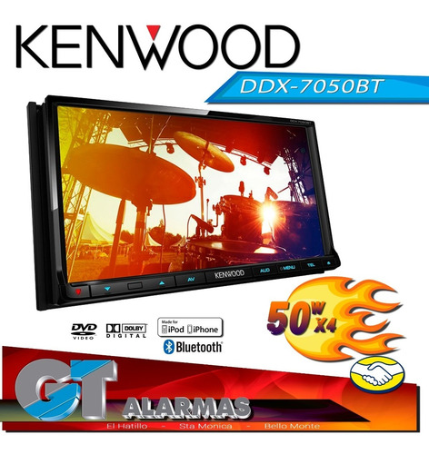 Radio Reproductor Multimedia Kenwood Ddxbt