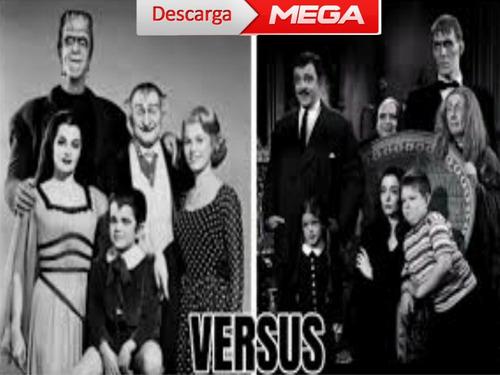Serie Digital La Familia Monster Y Los Locos Adans Y Más