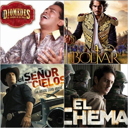 Serie Diomedez Diaz, Bolivar Completas Full Hd En Combos