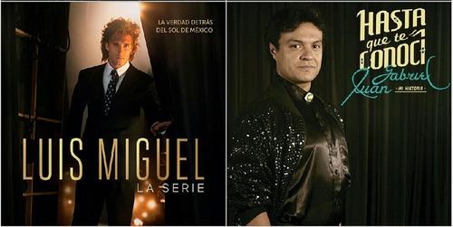 Series Juan Gabriel Y Luis Miguel Full Hd Español En Combos