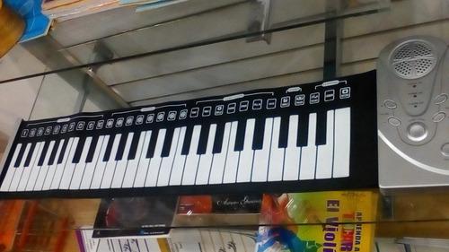 Teclado O Piano Rollin, Plegable 49 Teclas.