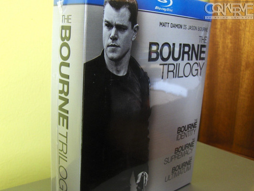 The Bourne Trilogy Box Set Bluray Original Nuevo Y Sellado