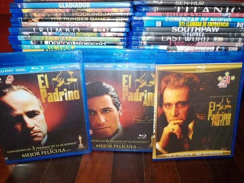 Trilogía Del Padrino, Gladiador, Titanic Y Más En Bluray