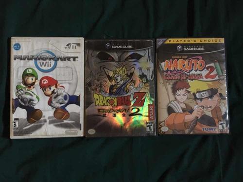 Vendo Juegos De Gamecube Y Wii