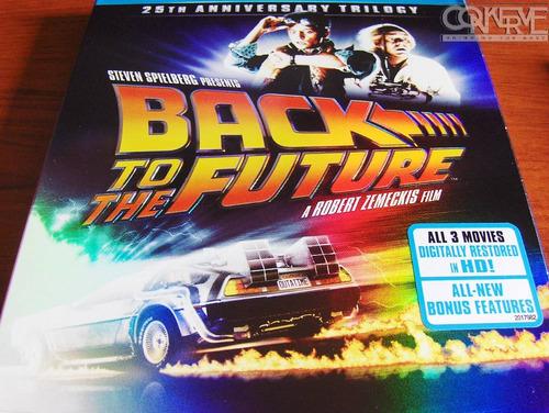 Volver Al Futuro Trilogy Box Set Bluray (25th Anniversary)