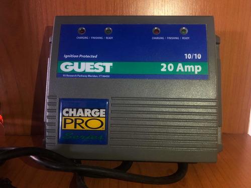 Cargador De Batería Marinco Guest 20 Amp. Nuevo.
