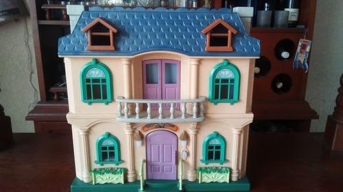 Casa De Muñecas Plegable Ideal Para Lol Y Polly Poker