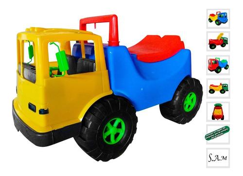 Gran Camion Carro Montable Infantil Niños Colorido