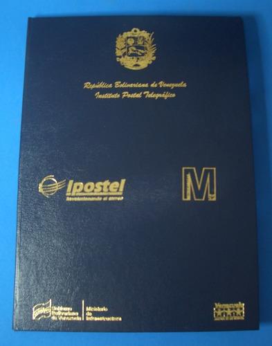 Álbum Filatélico Metro De Caracas