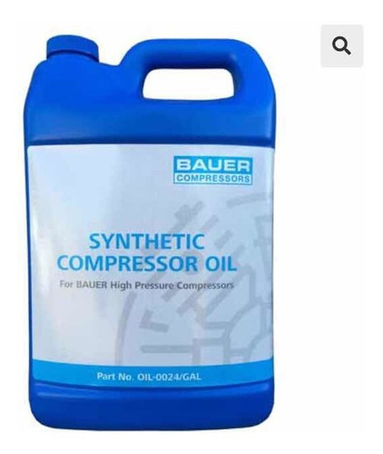 Aceite Sintético Respirable Para Compresores De Buceo Bauer